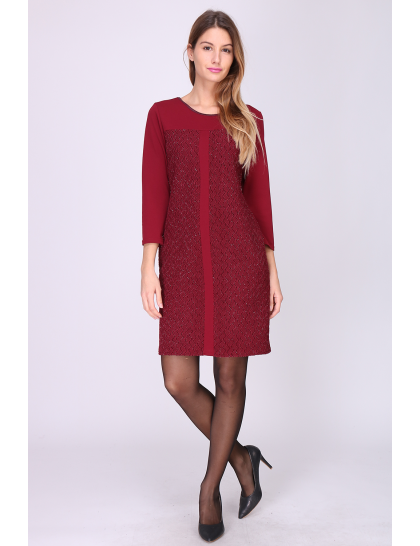 Robe qachanel Bordeaux