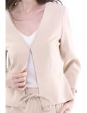 Veste courte  beige