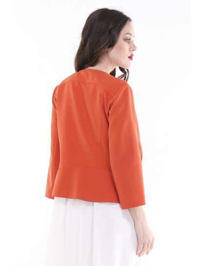 Veste courte orange