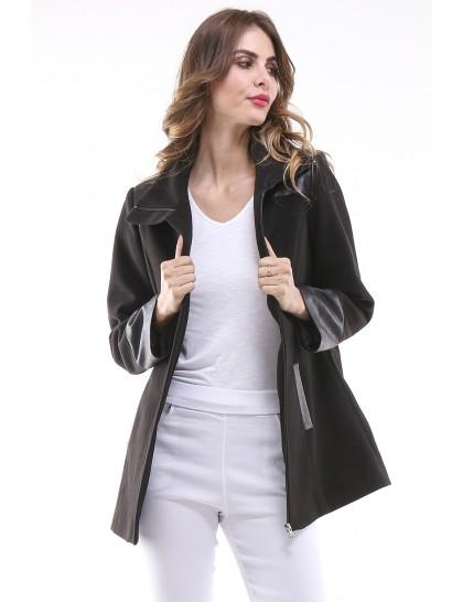 Manteau femme LAURA Noir